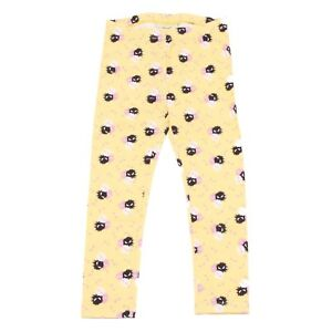 9337R-leggings-bimba-FENDI-MOSTRI-SPLASH-giallo-pantalone-pant-kid