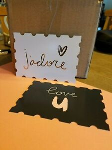 Love-U-and-j-039-adore-New-Postcards-Box-of-20-New
