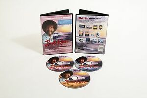 Bob-Ross-DVD-3-Disc-13-SEASCAPE-PAINTING-Collection-star-of-JOY-OF-PAINTING