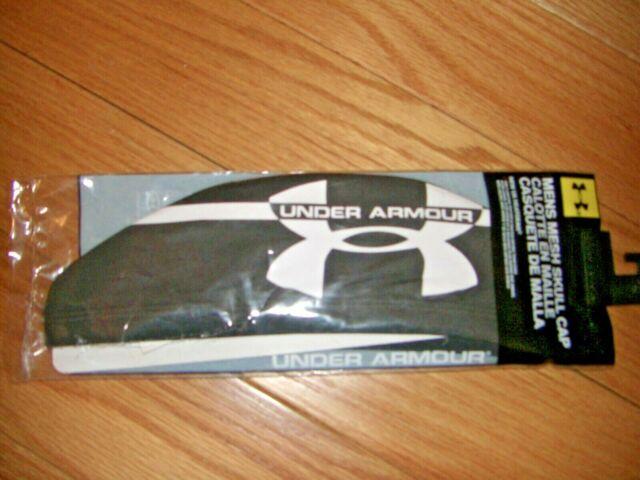 57e9487abf2 Under Armour UA Mesh Skull Cap Black 1256313 HeatGear for sale ...