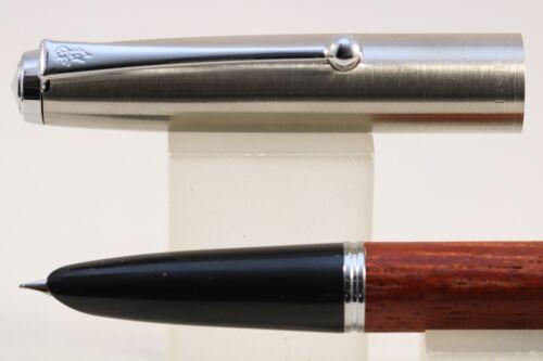 Rose Wood with Chrome Trim New Jinhao No 51A Extra Fine Fountain Pen