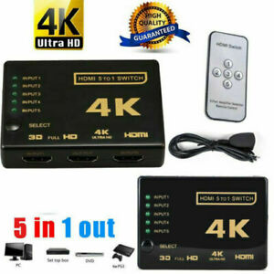 5-Port-HDMI-Switch-Switcher-Selector-Connector-Splitter-Hub-Remote-For-HDTV
