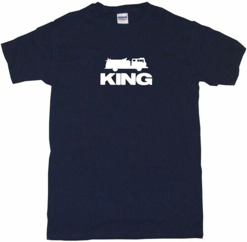 Fire Truck King Mens Tee Shirt Pick Size Color Small-6XL