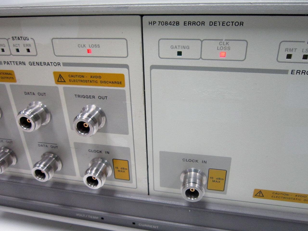 HP/AGILENT 70001A mainframe W/ 70841B Pattern Gen