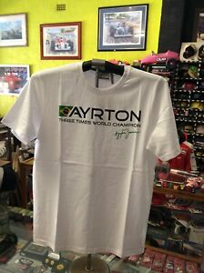 AYRTON-SENNA-BRAZIL-3-X-WORLD-CHAMPION-T-SHIRT-NEW-SIZE-MEDIUM