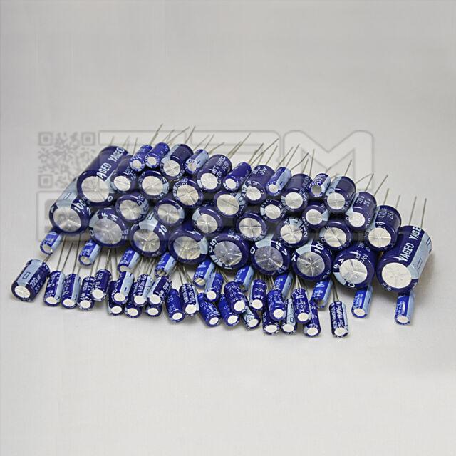 Kit condensatori elettrolitici 7 valori, 70 pz. - ART. FL01