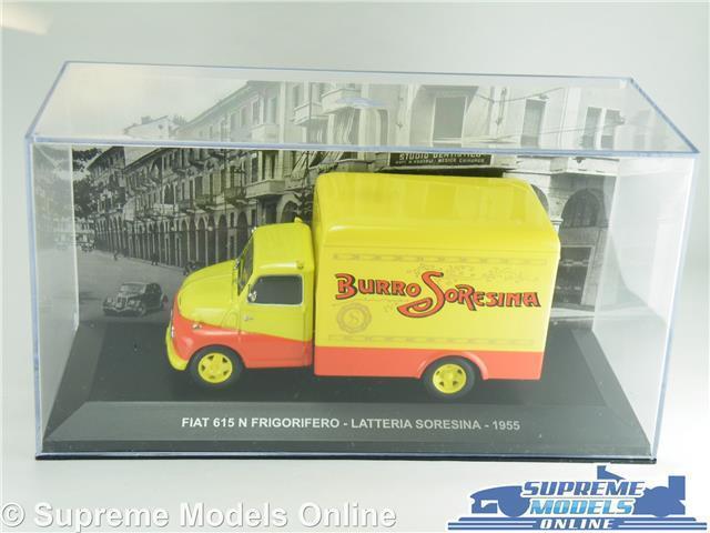 FIAT 615N MODEL VAN FRIGORIFERO 1 43 43 43 SCALE LATTERIA SORESINA IXO 1955 ITALY K8 b635f4