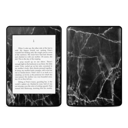 Original Kindle Paperwhite Skin Black Marble Sticker Decal
