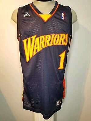 the best attitude b8b81 9c0a6 Stephen Jackson Golden State Warriors Adidas NBA Jersey #1 Men Size Large |  eBay