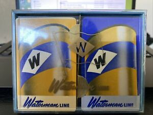 Vintage Rare Waterman Steamship Cruise Line Playing Cards