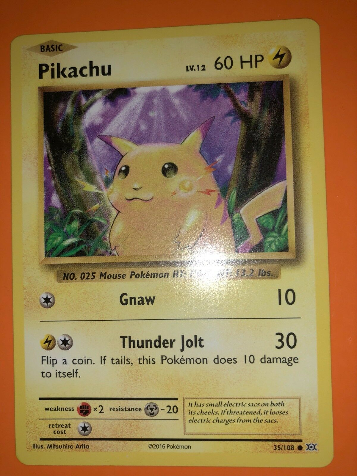 RARE Pokémon    Pikachu Card MINT Condition a1c0c7