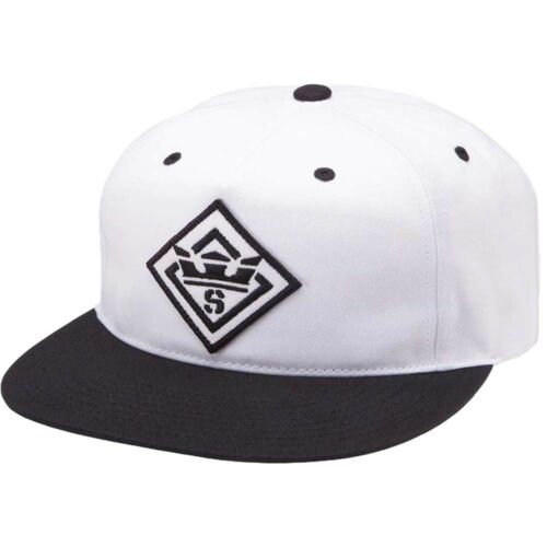 Supra Snapback Panel Flat Peak Cap Slider Trucker Script Adjustable Hat Mens