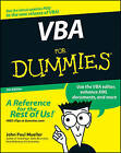 VBA For Dummies by John Paul Mueller (Paperback, 2007)