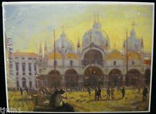 PIAZZA SAN MARCO BY KEITH JANSZ 1000 PIECE BRAND NEW AND SEALED JIGSAW PUZZLE B1