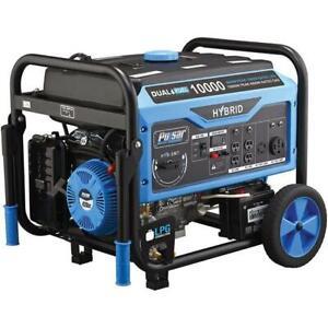 Pulsar 10000 Watts Dual Fuel Gas/Propane Generator w/ Electric Start
