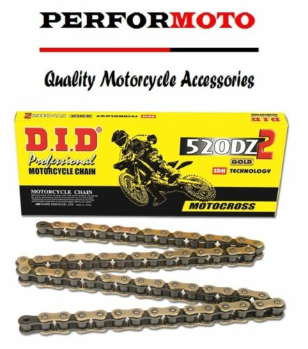 DID 520 Pitch Chain 114 Link Sherco SE 300 R Enduro 2T 14-15
