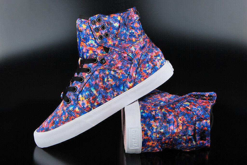 Supra mujer zapatos zapatos zapatos skytop pastel blanco cortos  autentico en linea
