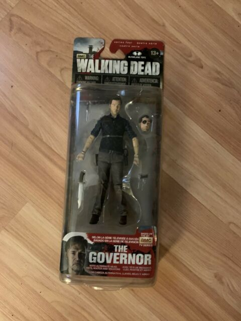 """The Walking Dead  Series 4 """"The Governor""""  Figure McFarlane Toys Action Figure"""