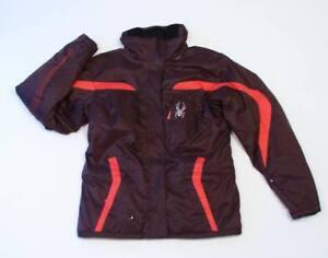 Spyder Mahogany Lola Hooded Winter Coat Parka Girls L Large 12 NWT $160