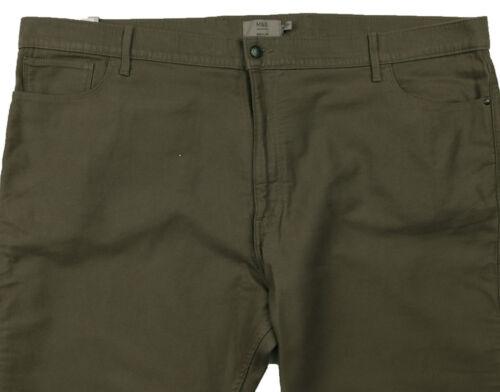 Mens Fit New Spencer Marks 46 fustagno R 48 Regular pantaloni 50 di 35 Marrone Vita 4wdqdXr
