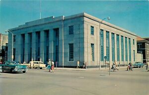 Details about USPS US Post Office St Cloud MN Minnesota old cars Postcard