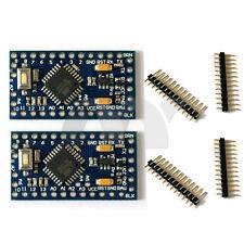 2 Pcs Atmega328 ATMEGA328P Pro Mini Board Module 5V 16MHz For Arduino