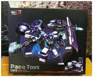 Transformers-PAPA-TOYS-PPT-01-PPT01-Camera-mini-Robot-Action-Figure-Toy