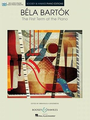 Keyboard & Piano Intelligent Bela Bartok The First Term At The Piano With Online Video Lessons New 048023990 Instruction Books, Cds & Video