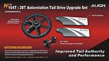 Align Trex 450L/450 PRO 104T 28T Autorotation Tail Drive Upgrade Set H45G004XX
