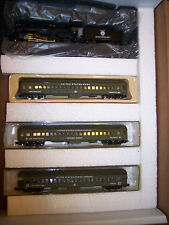N SCALE US ARMY  MILITARY 2-8-2 STEAM  LOCO 3 CARS TROOP HOSPITAL TRAIN # NND015