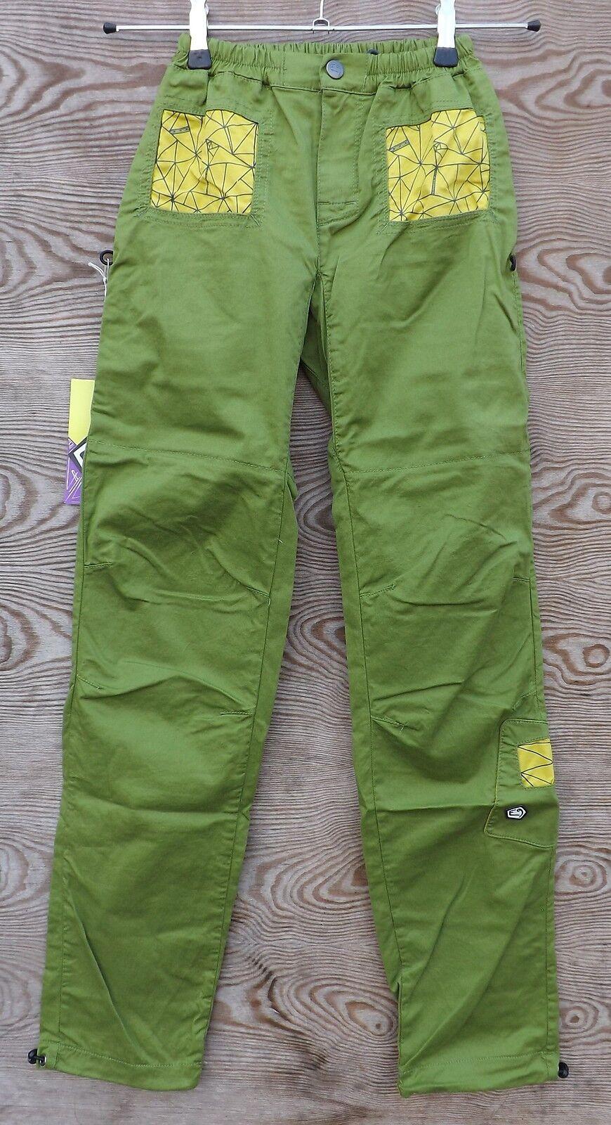 E9 Quadra, Ligero Pantalones Mujer, Escalar Boulderhose, Apple-Cedar