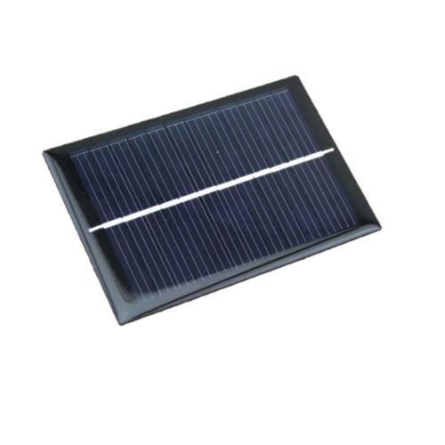 6V 100mA 0.6W Mini Epoxy Solar Panel Photovoltaic Polykristallin Cell Charger