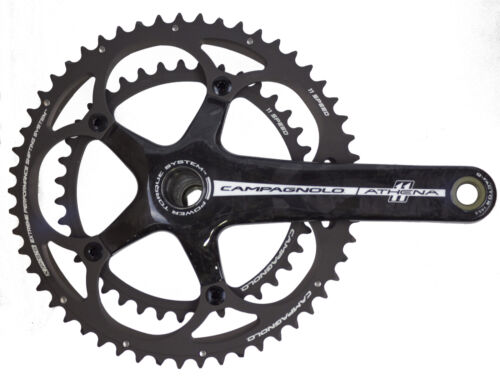 Campagnolo Athena Carbon Ultra-Torque 11 Speed Double 39//53 Crankset 175mm