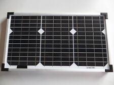 20 Watt W 12V  Solarmodul Solarpanel Fotovoltaik Modul Monokristallin Solarzelle