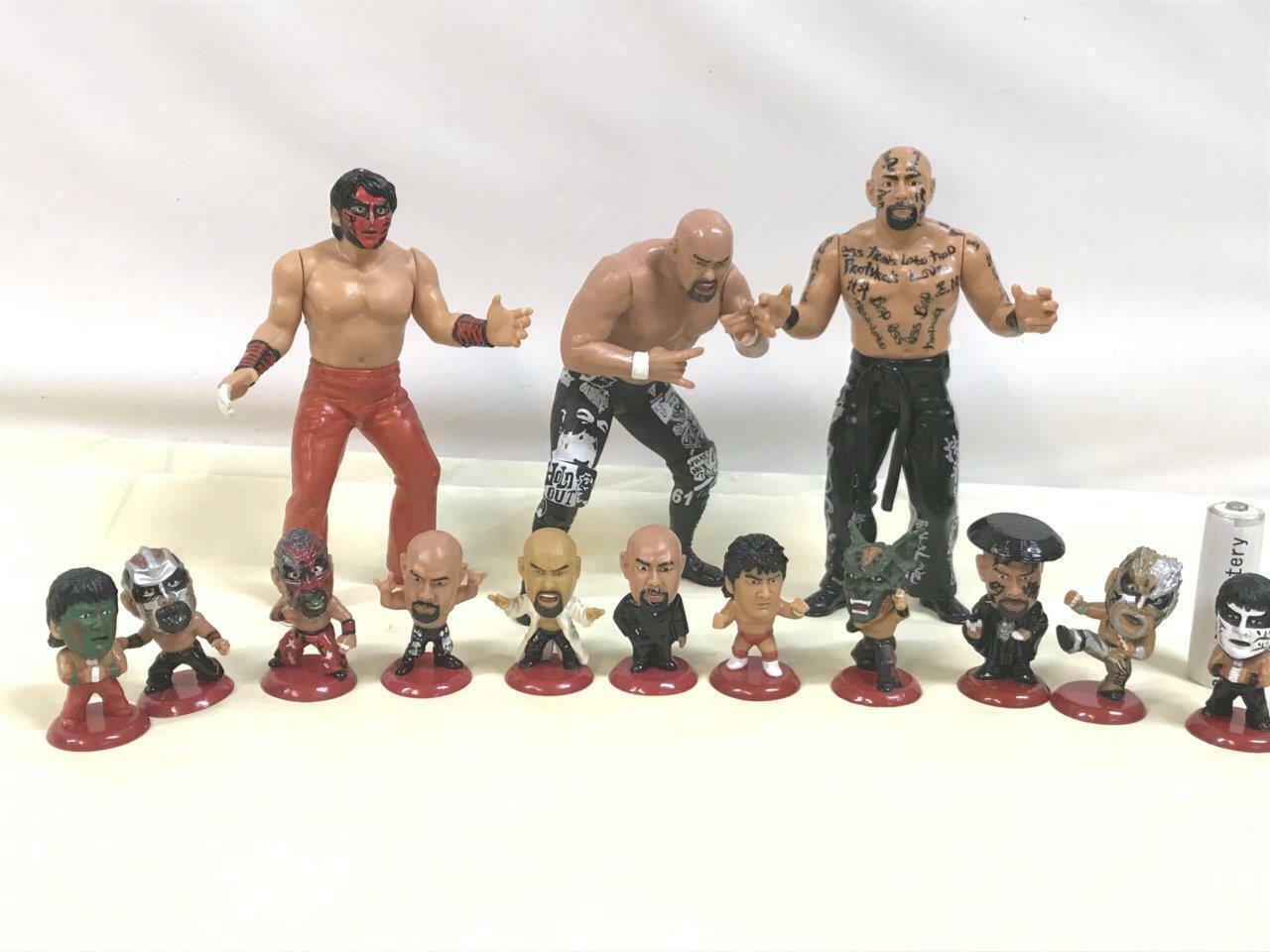Great Muta Keiji Muto Kokushimuso PRO WRESTLING WRESTLING WRESTLING FIGURE SET WCW NJPW AJPW fee664