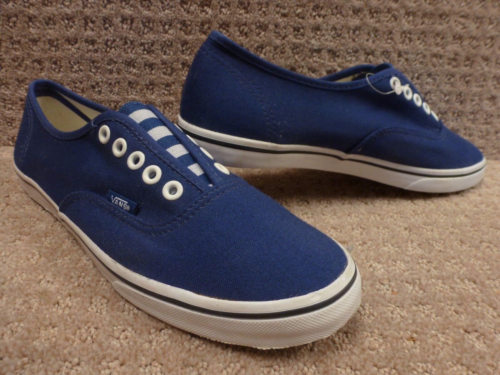Vans Men's shoes  Authentic Lo Pro Gore  Patriot bluee True White , Size 8.5