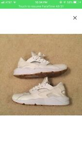 online retailer 39bc2 d013d Image is loading NIKE-AIR-HUARACHE-RUN-PA-WHITE-GUM-LIGHT-