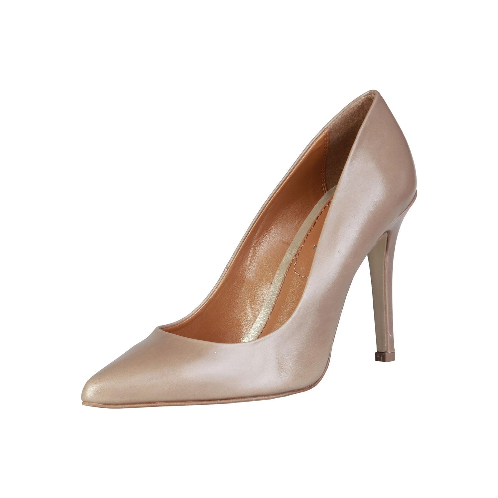 Pierre Cardin zapatos señora zapatos de salón tacón alto stilettos cuero genuino