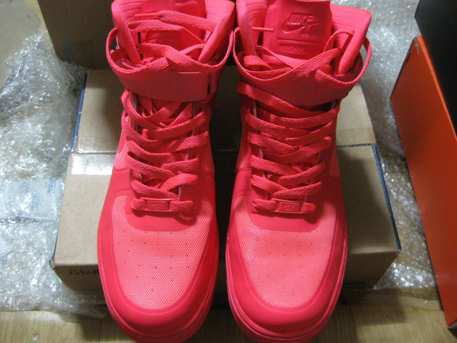 Nike air force red 1 hi ipn sonodiventate solare red force sz 9,5 095bd7
