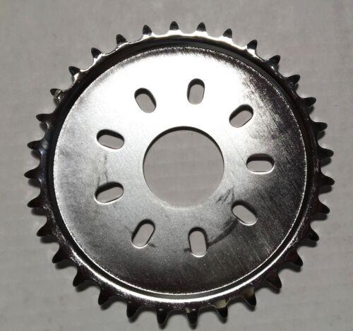 no mount chrome 32 teeth dish sprocket only 80cc Motor bike GAS ENGINE parts