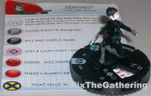 DOMINO #209 Deadpool Marvel HeroClix