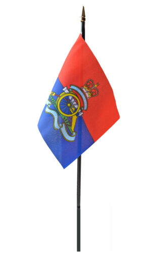 ROYAL ARTILLERY flag PACK OF TEN SMALL HAND WAVING FLAGS BRITISH ARMY