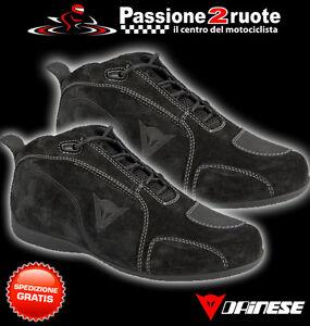 f6498cc69af394 Das Bild wird geladen Schuhe-Dainese-Merida-schwarz-moto-Schuhe
