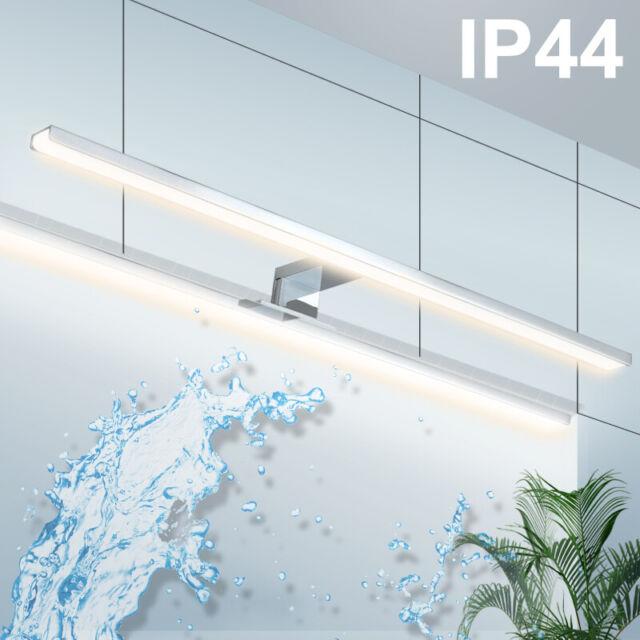 wowatt Led Spiegelleuchte Bad Spiegellampe Badezimmer Warmweiß Weiß 40cm  60cm