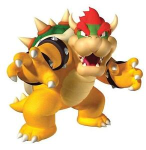 CoopéRative Super Mario Bros. Bowser Peel & Stick Giant Wall Decal-afficher Le Titre D'origine Artisanat Exquis;