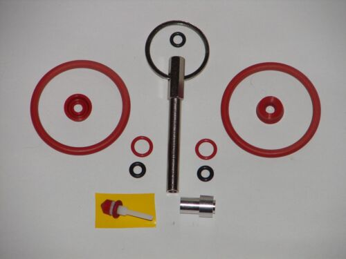 Sealings Fitting jura Stock Groups With Oval Head Key And Alucappe
