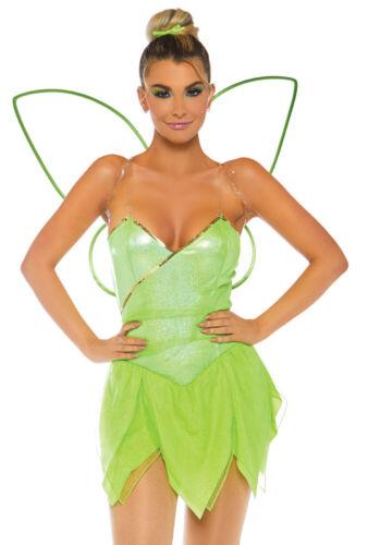 Leg Avenue green Tinkerbell bodysuit costume