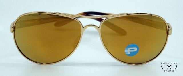 29e2cec3ba90e Oakley Tie Breaker Sunglasses Polished Gold 24k Iridium Polarized Oo4108-13