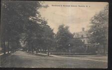POSTCARD SUMMIT NJ/NEW JERSEY BOULEVARD & NORWOOD AVENUE HOMES/HOUSES 1907