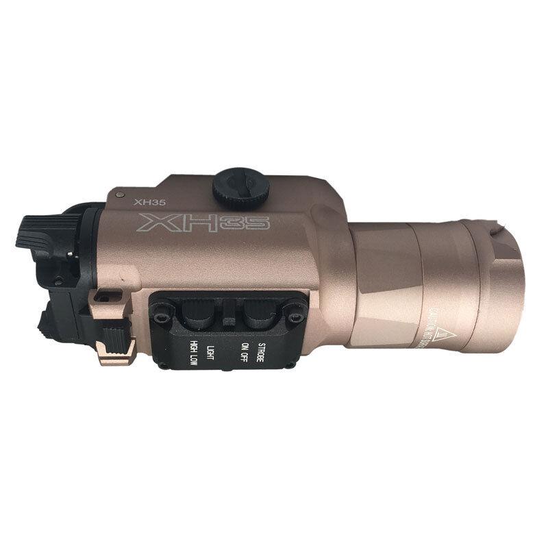 XH35 Gun Light 1000 Luuomini to 300 Luuomini Daul Output Adjustable Brightness Light